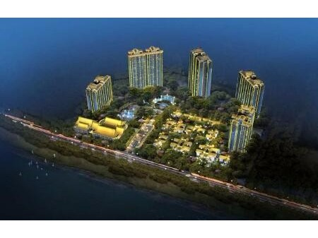 东坡岛上鑫龙湾二手房,商品房现房104平送下来138平